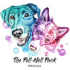 Hundeblog Pell-Mell Pack Logo