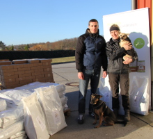 Spendenübergabe Casa Animale