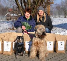 futalis spendet Hundefutter an das Tierheim Chemnitz