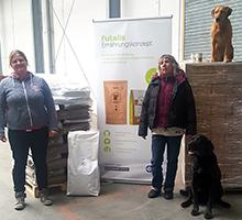 Spendenübergabe Tierschutzverein Eilenburg und Umgebung e.V.