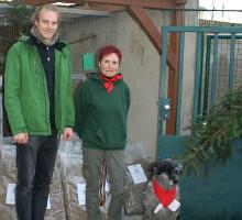Spendenübergabe Tierheim Erfurt