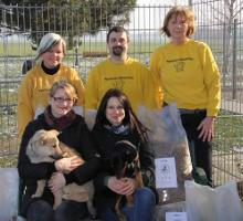 Spendenübergabe an den Tierheim Oelzschau