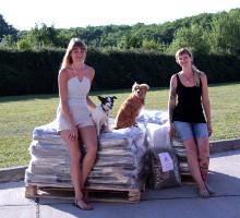 Spendenübergabe Hunde Wolke e.V.