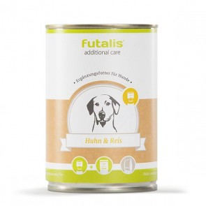 futalis additional care mit Huhn & Reis 400 g Dose