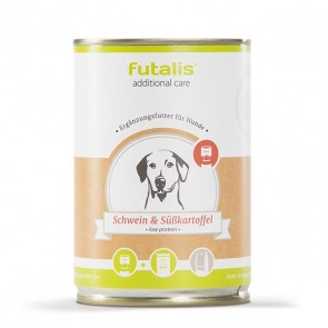 futalis additional care mit Schwein & Süßkartoffel 400 g Dose (low protein)