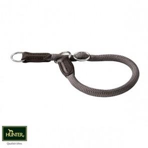 Hunter Dressurhalsung Halsband Freestyle grau