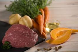 Fleischanteil im Trockenfutter und Nassfutter