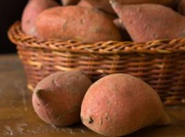 Vitamin B in Süßkartoffel
