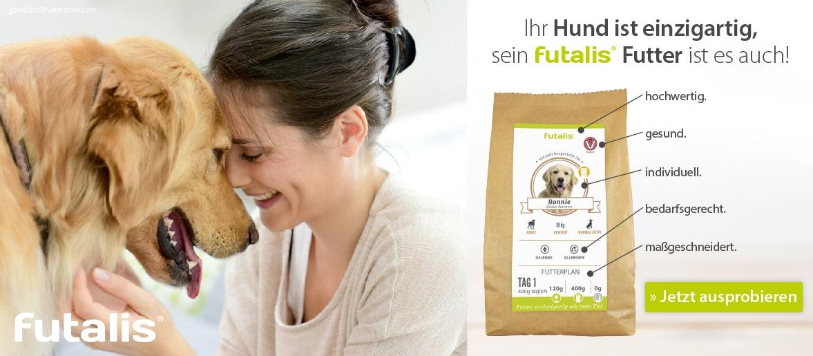 futalis Hundefutter - Ihr Hund ist einzigartig