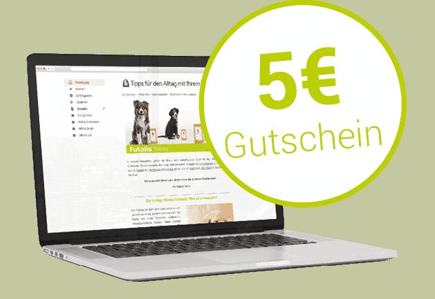 futalis Newsletter mit 5 Euro Gutschein