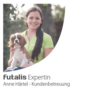 Welpenexpertin Anne Härtel