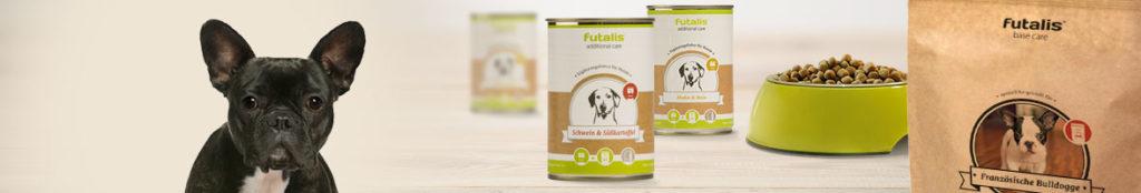 Französische Bulldogge Rassenfutter