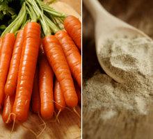 Karotten als Faserstoff