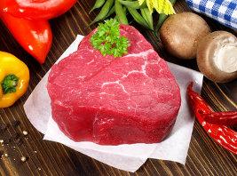 Rindfleisch im Hundefutter
