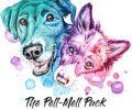 The Pell-Nell Pack Logo